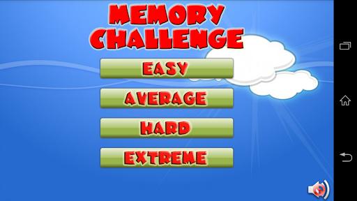 Memory Challenge Animals