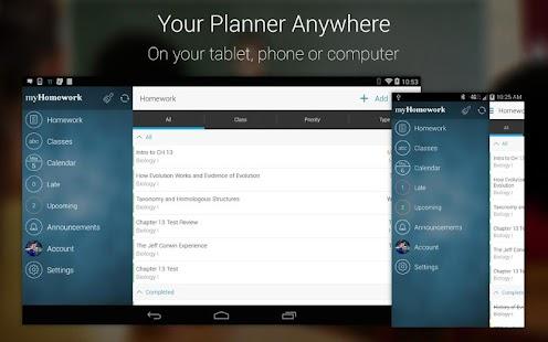 myHomework Student Planner- screenshot thumbnail