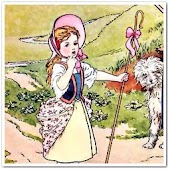 Little Bo-Peep nursery rhyme