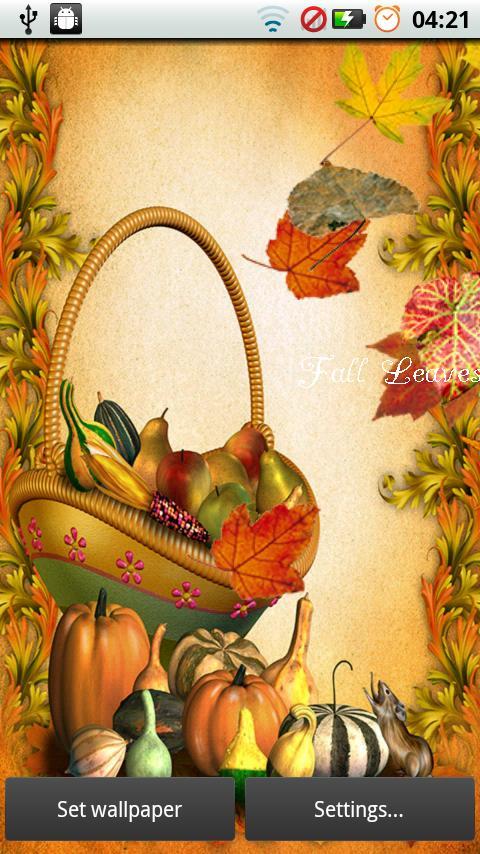 Fall Leaves for Thanksgiving screenshot #4
