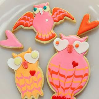 Lovebird Cookies.