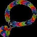 Rubber bracelets icon