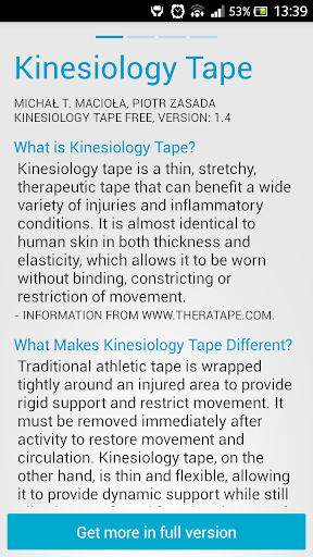 Kinesiology Taping SPORTTAPE