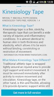 【免費醫療App】Kinesiology Taping SPORTTAPE-APP點子