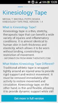 Kinesiology Tape Free