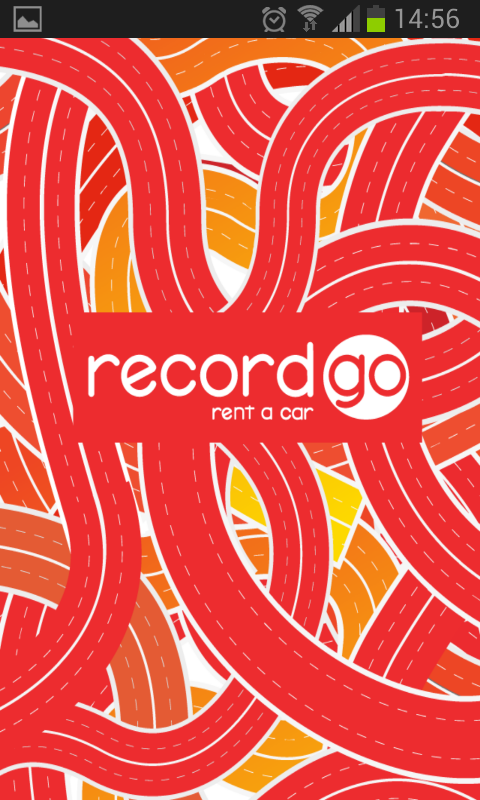 Record Go car hire- screenshot