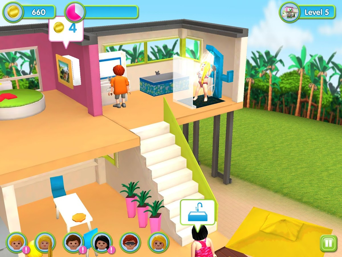La maison moderne playmobil applications android sur for Playmobil casa de lujo