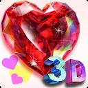 Live Diamonds-3D: Heart FREE mobile app icon