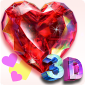 Live Diamonds-3D: Heart FREE