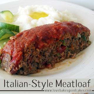 Italian-Style Meatloaf.