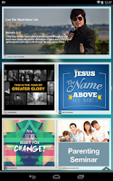 Screenshot of New Creation Church App