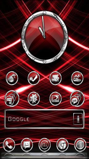 CrystalX HD Multi Theme Red