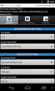 BlueMotion Logger screenshot 2