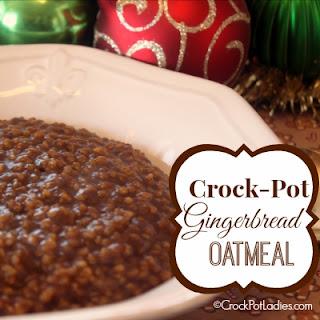 Crock-Pot Gingerbread Oatmeal