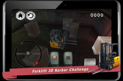 賽車遊戲必備免費app推薦|フォークリフト3D港の挑戦線上免付費app下載|3C達人阿輝的APP
