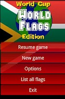 Screenshot of Flags Of The World - SE Demo