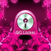 GO Locker Theme Pink Flowers