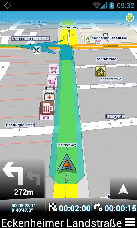 mapfactor gps navigation maps android apps on google play. Black Bedroom Furniture Sets. Home Design Ideas