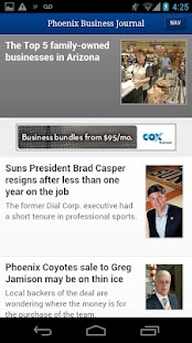 The Phoenix Business Journal - screenshot thumbnail