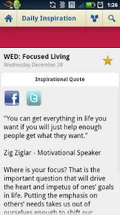 Daily Inspiration & Quotes screenshot