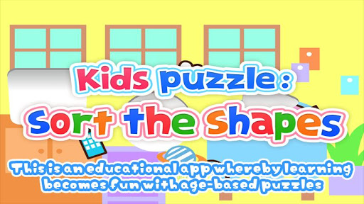 Kids Puzzle:Sort The Shapes 2+