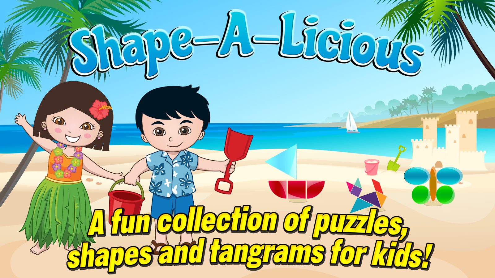 Shape-A-Licious Kids Puzzles- screenshot
