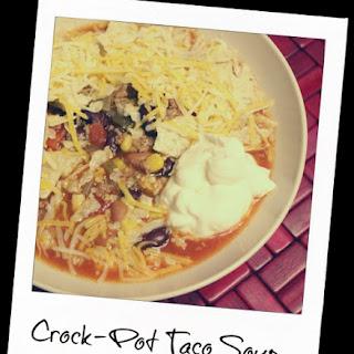Crock-Pot Taco Soup.