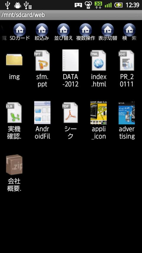 Security File Manager [Trial V - screenshot
