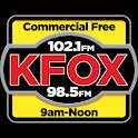 KFOX CLASSIC ROCK 98.5/102.1 logo
