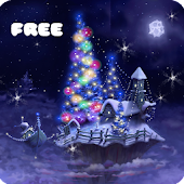 Christmas Snow Fantasy Live Wallpaper