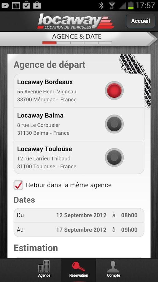 Locaway- screenshot