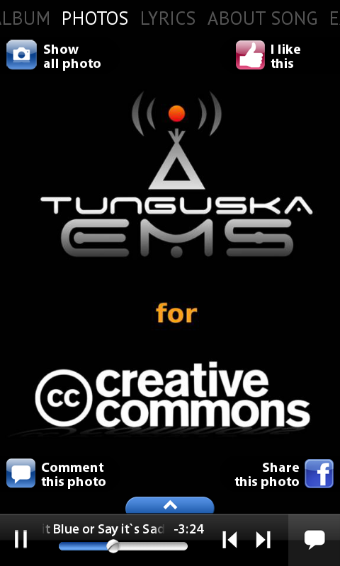 Tunguska - Creative Commons- screenshot