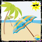 해수욕장 피서지(여름휴가/피서/관광)