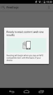 NFC TagWriter by NXP - screenshot thumbnail