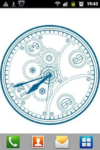 Clock blueprint live wallpaper android apps on google play clock blueprint live wallpaper screenshot thumbnail clock blueprint live wallpaper screenshot thumbnail malvernweather Gallery