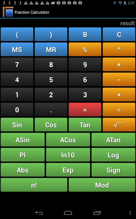 Metric Unit Converter - screenshot
