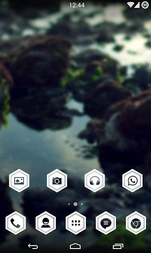 WhitePulse Icons ADW NOVA GO