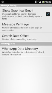 WhatsApp Statistics & History - screenshot thumbnail