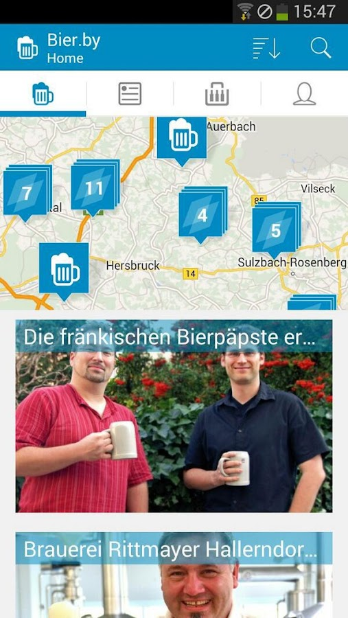 Bier.by - Bier aus Bayern- screenshot