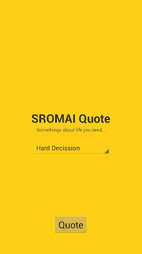 SROMAI Quote
