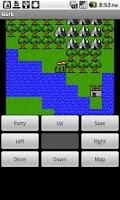Screenshot of Gurk, the 8-bit RPG