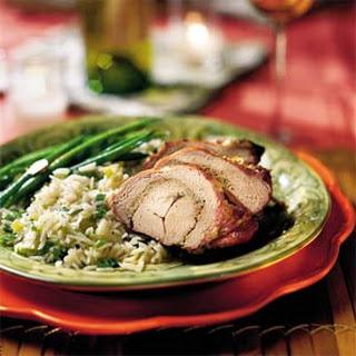 Grilled Pork Tenderloins With Rosemary Pesto.