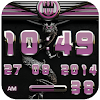 dragon digital clock rose APK Icon