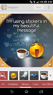 Textgram - write on photos - screenshot thumbnail