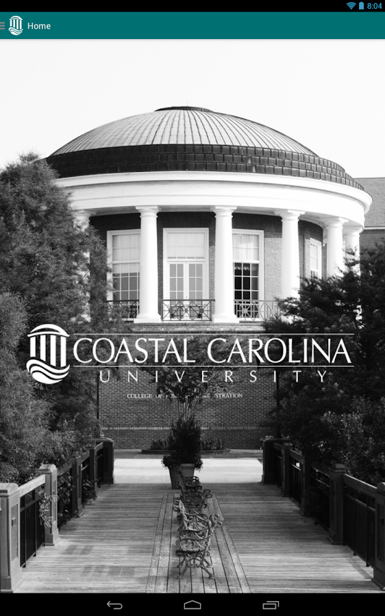 Coastal Carolina University - screenshot