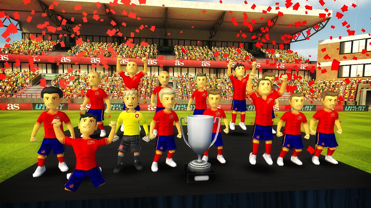 Striker Soccer Euro 2012 Pro- screenshot
