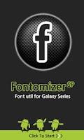 Screenshot of Fontomizer SP(Font for Galaxy)