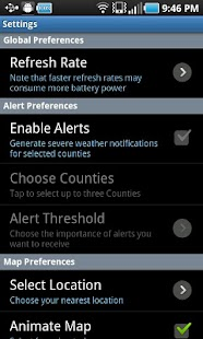 NOAA Radar and Alerts- screenshot thumbnail