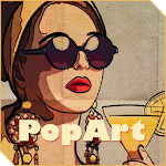 Xperia™ theme RetroPopArt v1.0.0