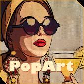 Xperia™ theme RetroPopArt